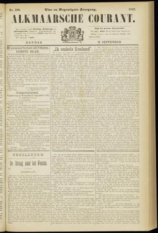 Alkmaarsche Courant 1892-09-11