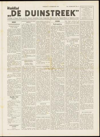De Duinstreek 1951-02-23