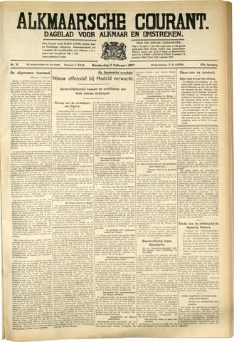 Alkmaarsche Courant 1937-02-11