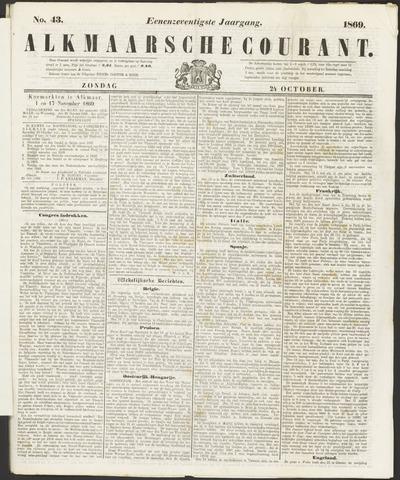 Alkmaarsche Courant 1869-10-24