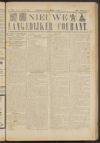 Nieuwe Langedijker Courant 1923-03-29