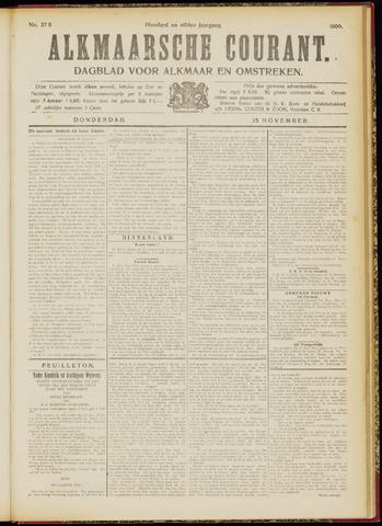 Alkmaarsche Courant 1909-11-25