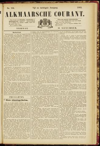 Alkmaarsche Courant 1883-11-16