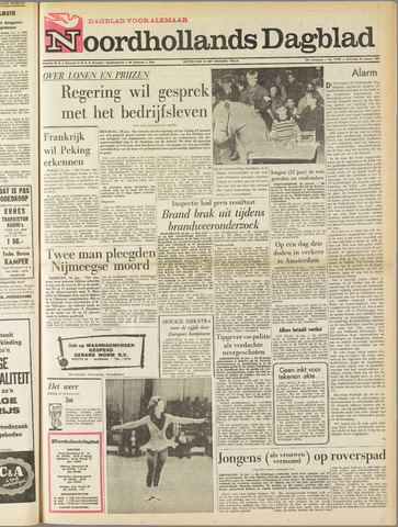 Noordhollands Dagblad : dagblad voor Alkmaar en omgeving 1964-01-18