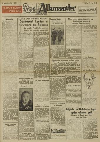 De Vrije Alkmaarder 1948-05-14