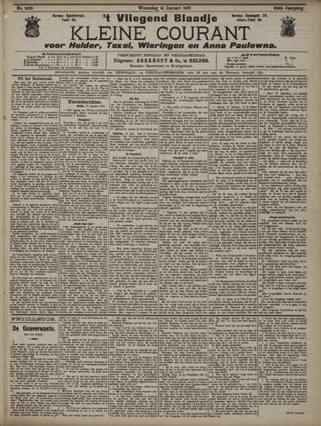 Vliegend blaadje : nieuws- en advertentiebode voor Den Helder 1907-01-16