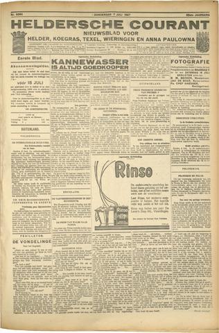 Heldersche Courant 1927-07-07