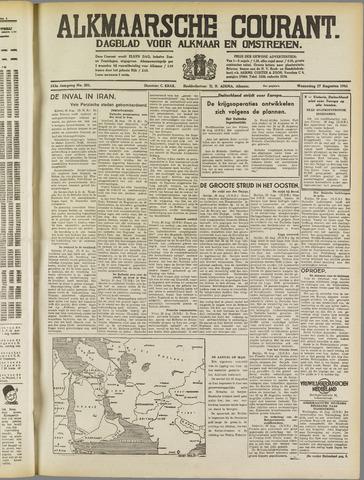 Alkmaarsche Courant 1941-08-27