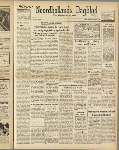 Nieuw Noordhollandsch Dagblad : voor Alkmaar en omgeving 1947-05-30