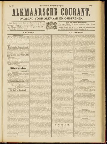 Alkmaarsche Courant 1911-08-21