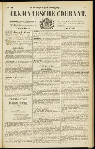 Alkmaarsche Courant 1894-10-03