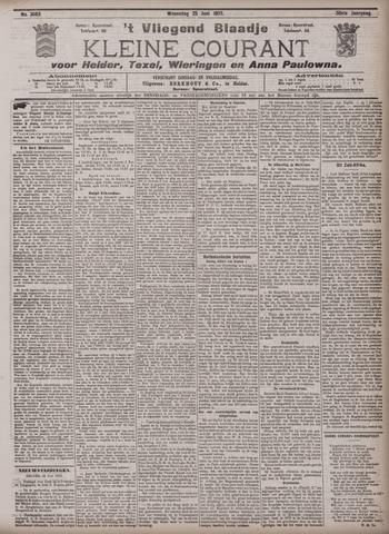 Vliegend blaadje : nieuws- en advertentiebode voor Den Helder 1902-06-25
