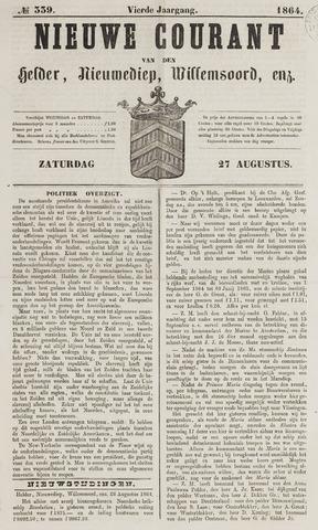 Nieuwe Courant van Den Helder 1864-08-27