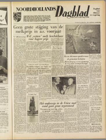 Noordhollands Dagblad : dagblad voor Alkmaar en omgeving 1954-10-29