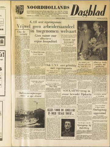 Noordhollands Dagblad : dagblad voor Alkmaar en omgeving 1959-06-30