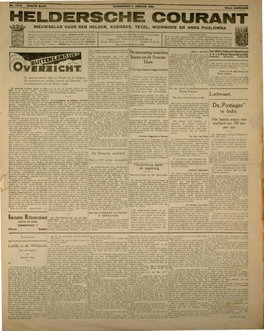Heldersche Courant 1934-01-04