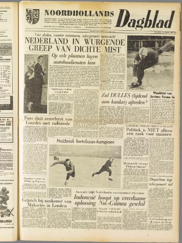 Noordhollands Dagblad : dagblad voor Alkmaar en omgeving 1959-02-16