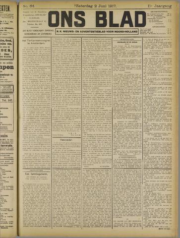 Ons Blad : katholiek nieuwsblad voor N-H 1917-06-02