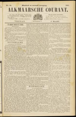 Alkmaarsche Courant 1905-03-17