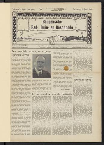 Bergensche bad-, duin- en boschbode 1949-06-11