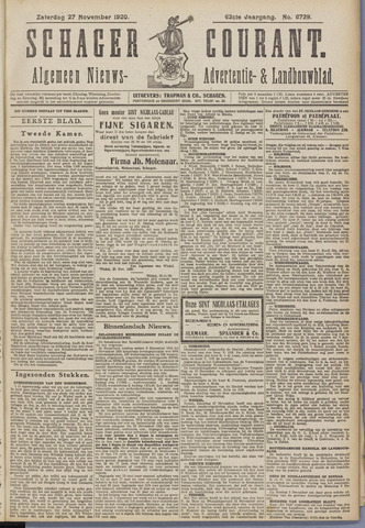 Schager Courant 1920-11-27