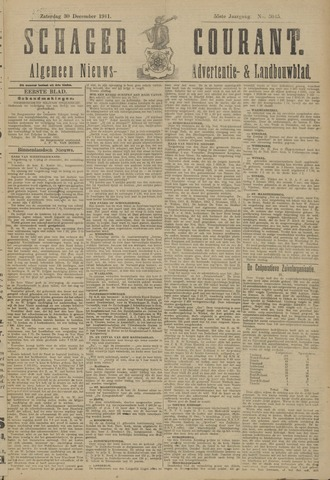 Schager Courant 1911-12-30