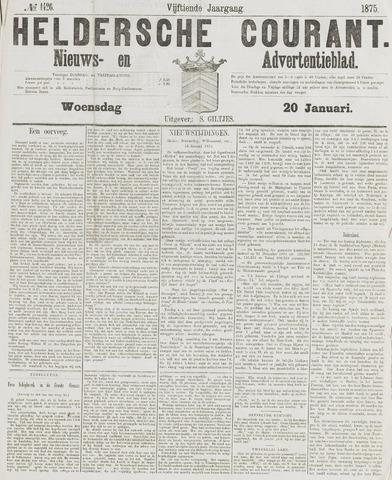 Heldersche Courant 1875-01-20