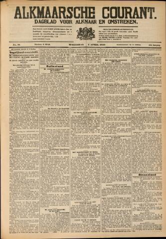Alkmaarsche Courant 1930-04-01