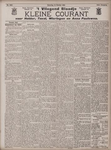 Vliegend blaadje : nieuws- en advertentiebode voor Den Helder 1903-10-24