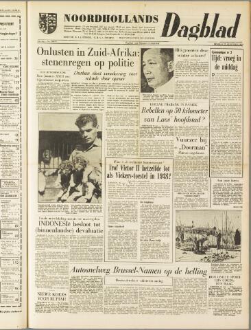 Noordhollands Dagblad : dagblad voor Alkmaar en omgeving 1959-08-25