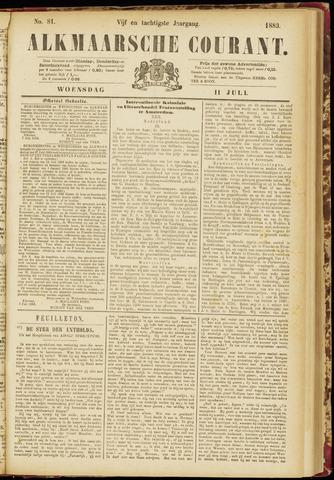 Alkmaarsche Courant 1883-07-11