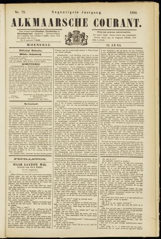Alkmaarsche Courant 1888-06-13