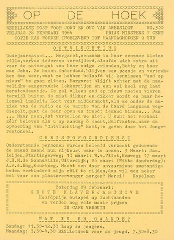 Op De Hoek, weekblad voor Akersloot 1964-02-28