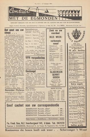 Contact met de Egmonden 1964-02-27