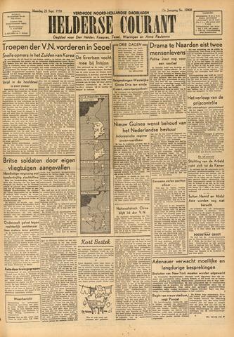 Heldersche Courant 1950-09-25