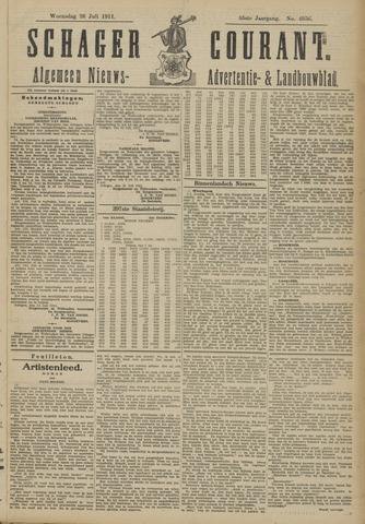 Schager Courant 1911-07-26