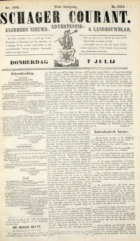 Schager Courant 1881-07-07
