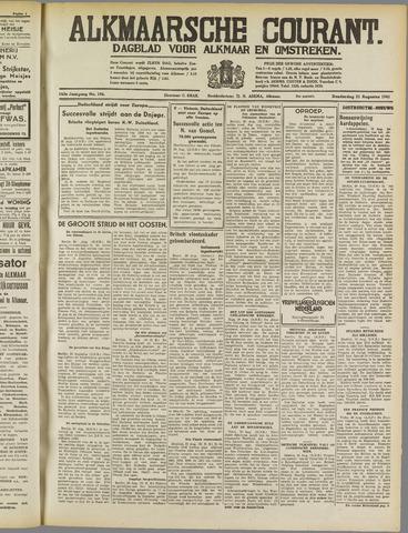 Alkmaarsche Courant 1941-08-21