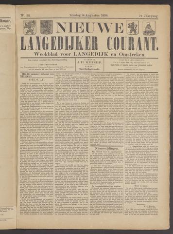Nieuwe Langedijker Courant 1898-08-14