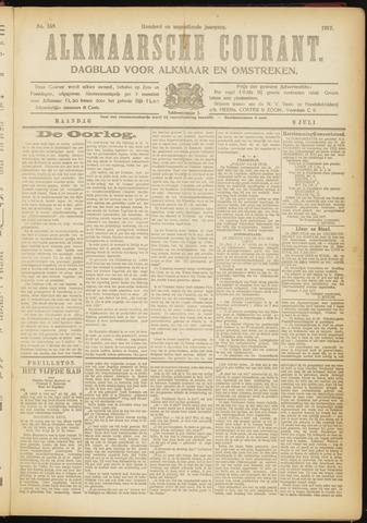 Alkmaarsche Courant 1917-07-09