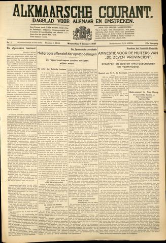 Alkmaarsche Courant 1937-01-06
