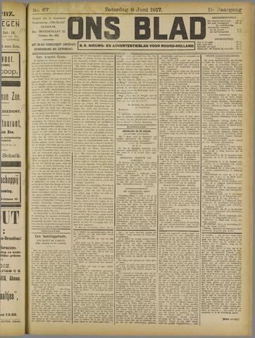 Ons Blad : katholiek nieuwsblad voor N-H 1917-06-09