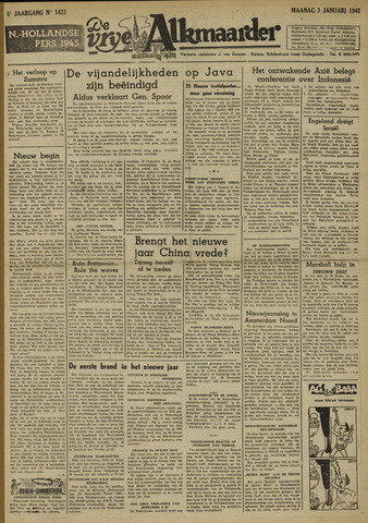 De Vrije Alkmaarder 1949