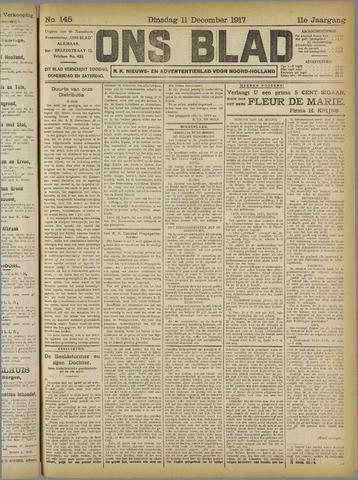 Ons Blad : katholiek nieuwsblad voor N-H 1917-12-11