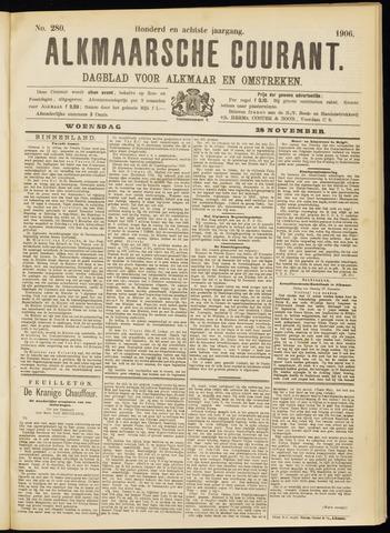 Alkmaarsche Courant 1906-11-28