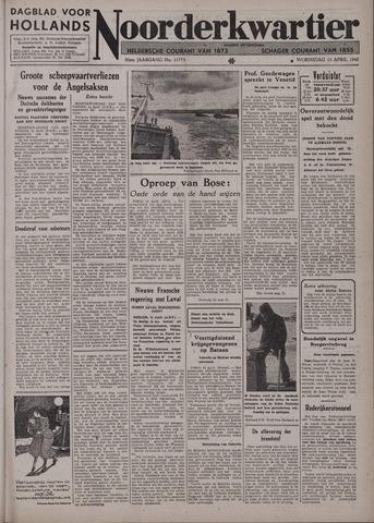 Dagblad voor Hollands Noorderkwartier 1942-04-15