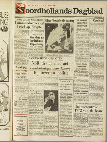 Noordhollands Dagblad : dagblad voor Alkmaar en omgeving 1969-04-30