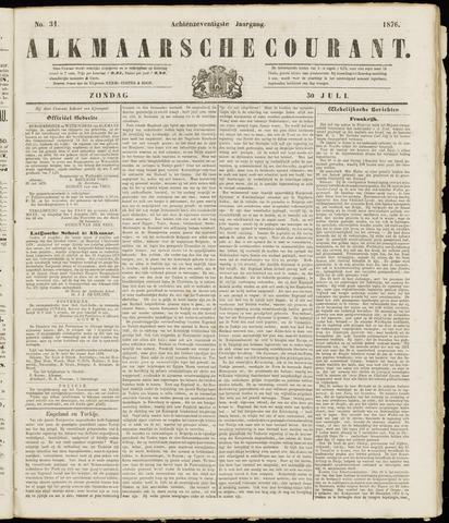 Alkmaarsche Courant 1876-07-30