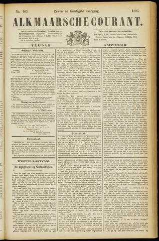 Alkmaarsche Courant 1885-09-04