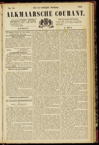 Alkmaarsche Courant 1884-05-04